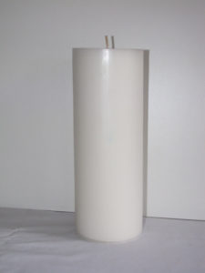 Large White Candle Image